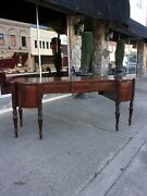 Outstanding Mahogany Sideboard With Cellarettet Drawers 19th Century
