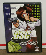 Gunsmith Cats Bulletproof Dvd With Insert Authentic Region 1