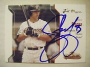 Josh Flores Signed Rc Astros 2005 Just Minors Baseball Card Auto New Lenox Il 16