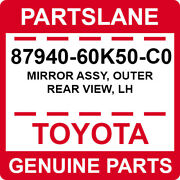 87940-60k50-c0 Toyota Oem Genuine Mirror Assy Outer Rear View Lh
