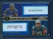 Marquise Brown Nand039keal Harry 2019 Panini Contenders Optic D /99 Rc Ravens Pats