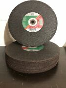 15x Pferd 12 1/8 Thick 20mm Arbor Cut Off Wheel Ductile Iron From Germany
