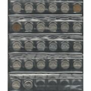 Canadian 5 Cent Lot Of 26 Coins Great Condition.