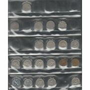 Canadian 5 Cent Lot Of 36 Coins Fine To Very Fine Condition