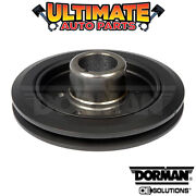 1 Groove Harmonic Balancer 3.7l 6 Cylinder For 65-72 Plymouth Barracuda