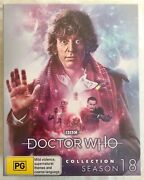 Doctor Who The Collection Season 18 Limited Edition Blu-ray Set Tom Baker
