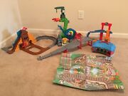 Thomas Train Take-n-play Dino Run Great Quarry Roundhouse Cranky Race Parts Only