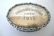 Antique Silver 800 Germany 70grms. Snuff Box 1913 Worldwide Free Shipping N2