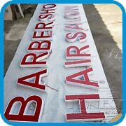 Customs Channel Letter Hair Salon,barber Shop Sign With Power Supply.20in Tall