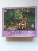 1000 Pc Jigsaw Puzzle Scenic Selections 18 X 24 My Corner Garden By Mb Puzzle