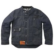 Fuel Greasy Collection Aramid Denim Jacket - Blue - All Sizes