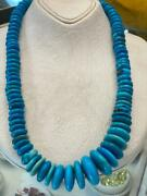 Genuine Natural Egyptian Turquoise Necklace 20