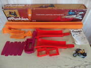 Used Mattel Rrrumblers Bold Eagle Set Motorcycle Figure Toy With Box