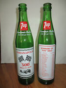 Indianapolis 500 Indy May 27th 1979 Rick Mears Champion Empty 7up Bottle