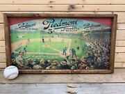 Antique Style Piedmont Baseball Tobacco T206 Wood Printed Sign 12x24
