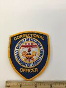Police / Security Related Patch District Of Columbia Correctional Officer 90ra