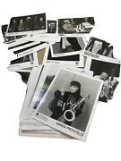 Huge 50+ Jazz Promo Photo Lot Promotional Pictures Bandw 8x10 Many Artist And Bands