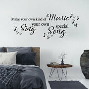 Make Your Own Kind Of Music - Paloma Faith - Song Lyrics Quote Decal Wall Sti