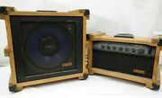 Vintage Crate Iir Head And Cabinet Amp 1970and039s Wood Cab W Reverb Cm