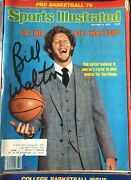 1979 Sports Illustrated Magazines Complete Set Of 50 And Signed Bill Walton
