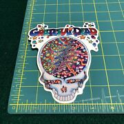 New Vintage Grateful Dead Steal Your Face Confetti 1998 Window Sticker Decal
