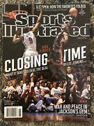 2012 Lebron James Sports Illustrated Nba Finals Closing Time No Label Newsstand