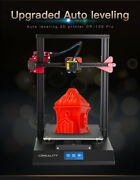 Cr-10s Pro Auto Leveling 3d Printer Lcd Touchscreen Self-assembly Resume Print