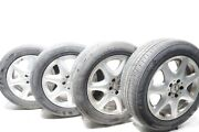 03 04 05 06 Mercedes S430 W220 Alloy Wheel Rims And Tire R17 11/32 Oem 88k