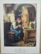 Toby Edward Rosenthal Vintage Print His Madonna 1950's 17×12.5 Ny Graphic