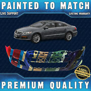 New Painted To Match - Front Bumper Cover For 2009-2012 Volkswagen Vw Cc 09-12