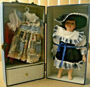 Lasting Impressions Companion Collection Doll With Case And Two Extra Outfits