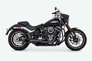 Freedom Turnout 21 Muffler Exhaust - Pitch Black Hd00812