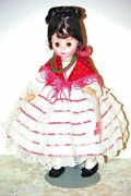 Madam Alexander Carmen Doll From Opera Series Doll 14 W Stand And Box 1985-1986