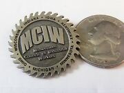 Midwestern Council Of Industrial Workers Union Pin Indiana Michigan Ohio Iowa