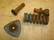 1966 Ford 4000 Tractor 3pt Spring Yoke And Parts