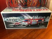 Classic Hess Collectible - 2005 Emergency Truck W Rescue Vehicle New In Box
