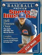Kerry Wood Sports Illustrated Magazine 2004 Baseball Preview Cubs No Label -3694