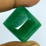 61.50 Ct Natural Zambia Emerald Rare Top Rich Green Huge Sugar Amazing Lusted