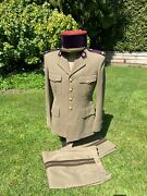Beautiful, Real French Foreign Legion Dental Officer's Complete Uniform Group