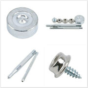 20pcs Stainless Boat Cover Press Stud Snap Fasteners Screw Kit Canvas Canop Mp