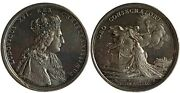 France Louis Xvi Silver Medal 1775 Anointed King In Coronation Prooflike Rrr