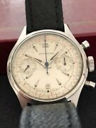 Wittnauer Chronograph 3256 36 Mm Gents Vintage