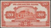 Netherlands Indies 20 Gulden 1921 Proof Uniface On Thin Paper Vf Pick 66