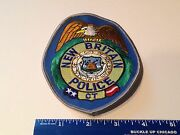 New Britain Conneticut Police Patch Vhtf