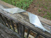 1950and039s Ford Edsel Roof Pillar Sail Panels 1957 1958 1959