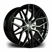 20 Bmf Rf108 Alloy Wheels Fit Ford Mustang Mitsibushi Gt0 04 5x114 Only