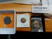 Coin Lot 90 40 .999 Silver. Proof Set. Uncirculated Set. Silver Us Mint Canada