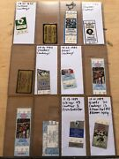 Collectors Lot / Collection Of Nfl Dallas Cowboys Tickets Ticket Stubs Fsbo