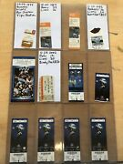 Collectors Lot / Collection Of Nfl Detroit Lions Full Tickets Ticket Stubs Fsbo