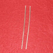 9999 Pure Silver Wire For Colloidal - Two 5 Rods Of 10 Gauge 99.99